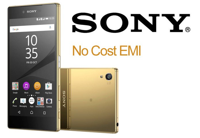 Sony Mobiles on No Cost EMI