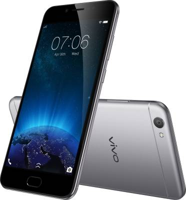 VIVO V5 (Space Grey, 32 GB)  (4 GB RAM) at no cost emi on flipkart