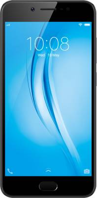 Vivo V5s (Matte Black, 64 GB)  (4 GB RAM) at no cost emi on flipkart