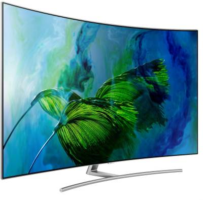 Samsung Q Series  Ultra HD (4K) Curved QLED Smart TV  on No Cost EMI on Flipkart