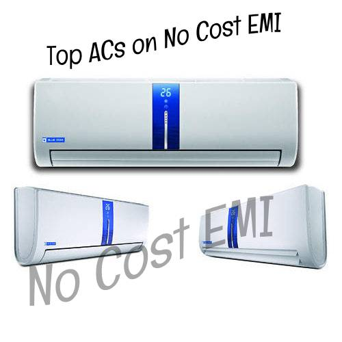 No Cost EMI AC Offers
